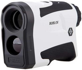 Boblov 650Yards Golf Rangefinder with Pinsensor 6X Magnification