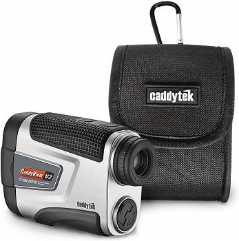 CaddyTek Golf V2+Slope CaddyView Laser Rangefinder review