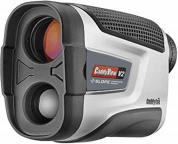 CaddyTek Golf V2+Slope CaddyView Laser Rangefinder