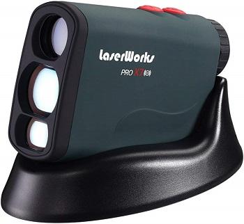 LaserWorks PRO X7 Golf Rangefinder